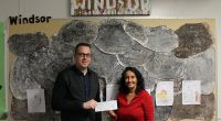 Shawn Pettipas, Senior Manager, BCAA Community Impact has officially given our school a cheque for $20,000 towards our intermediate playground needs. We have purchased a merry go round spinner and […]