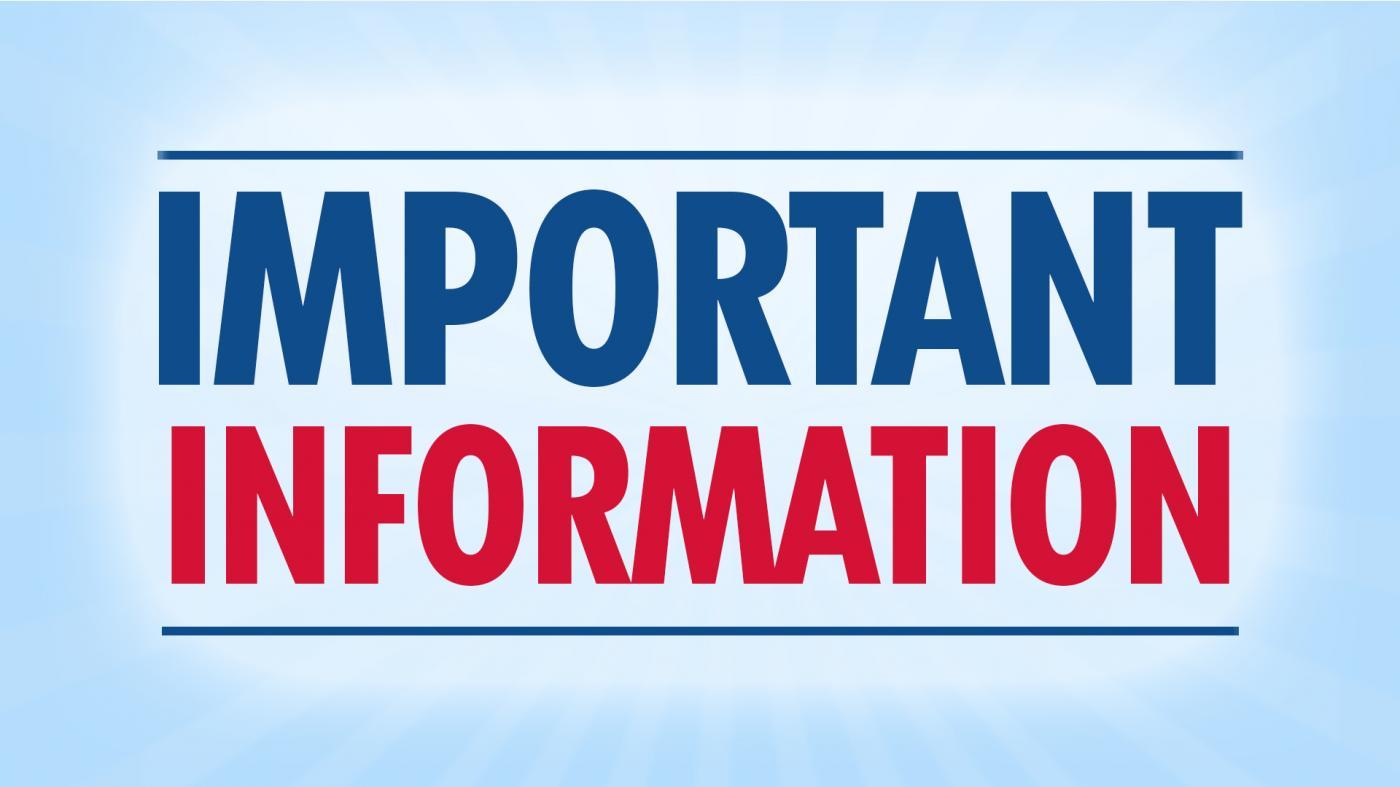 Important Information – First Week of School | Windsor Elementary School